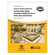 Pool & Hot Tub Alliance Announces Publication of the Revised VGBA Drain Cover Standard